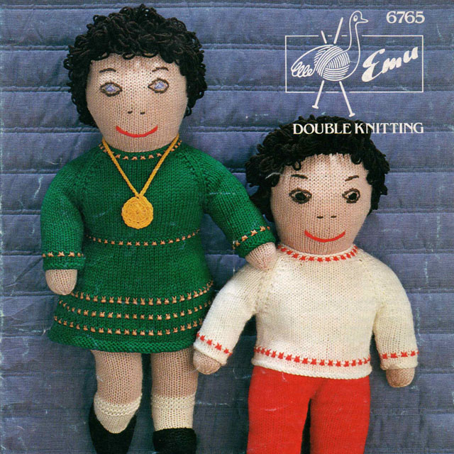 Boy & Girl Rag Doll Toys with Clothes