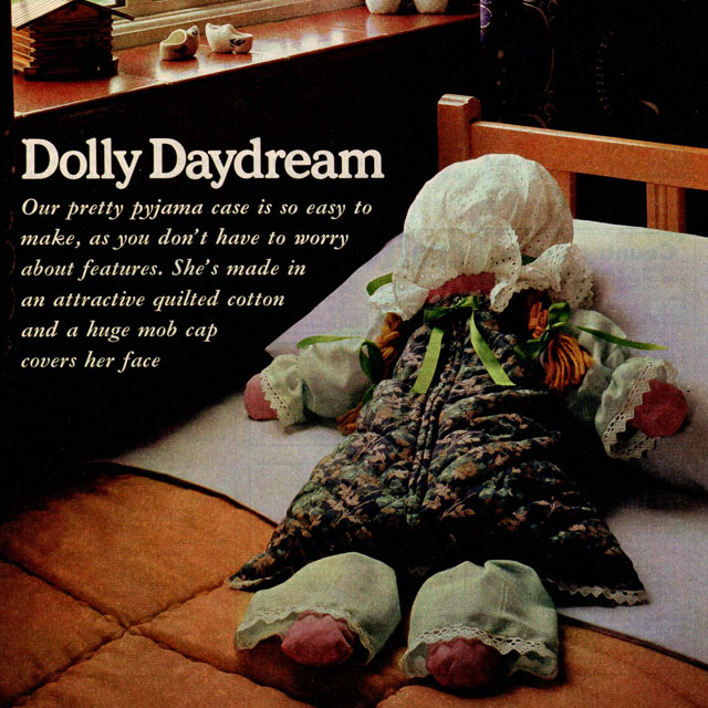 Rag Doll Nightdress Case