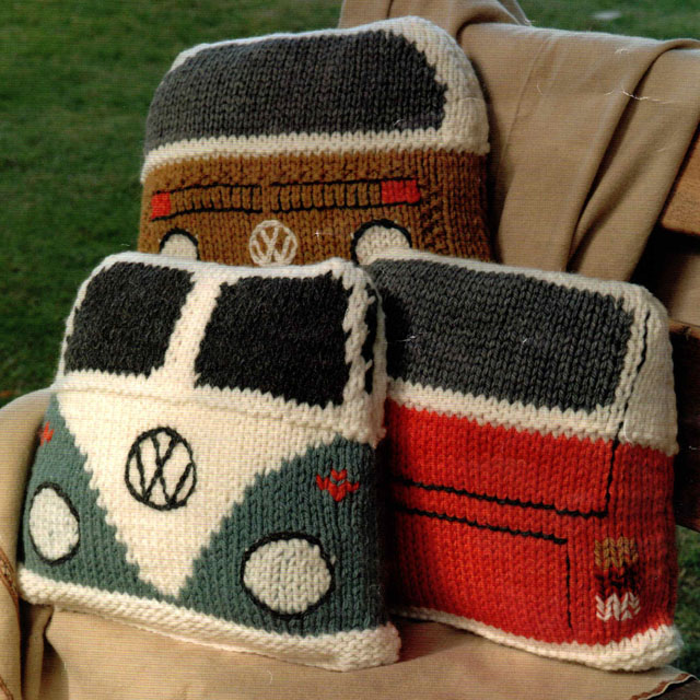 VW Camper Van Cushions Pillows